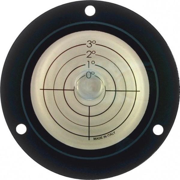 Niveau à bulle circulaire 0°-1°-2° -3° d=100