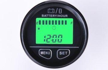 Horamètre et indicateur de batteie, écran lcd 12-48V, IP65