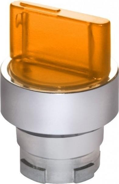 Sélecteur de position lumineux métal amber GD