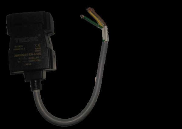 Contact de commutation avec bride de montage métallique + version 2NC IP68; Câble 20cm