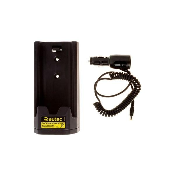 Station de recharge batterie Lithium, prise allume-cigar 12-24Vdc