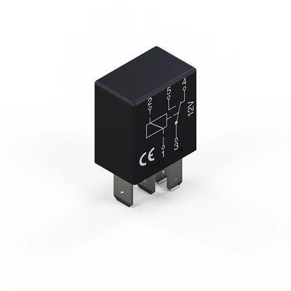 Micro relais CO 12V 25/15A 5P