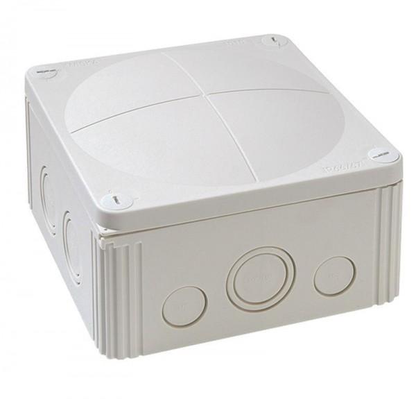 COMBI 1010- boîte de jonction, 140x140x82 IP 66/67, jusqu´à 10 mm ², 690 V, Combi 1010/5, gris, avec connection 5 vis