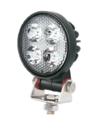 Phare de travail 3 pouces 20W LED cree 1900 Lm 12-48V rond fixation visse Spot beam