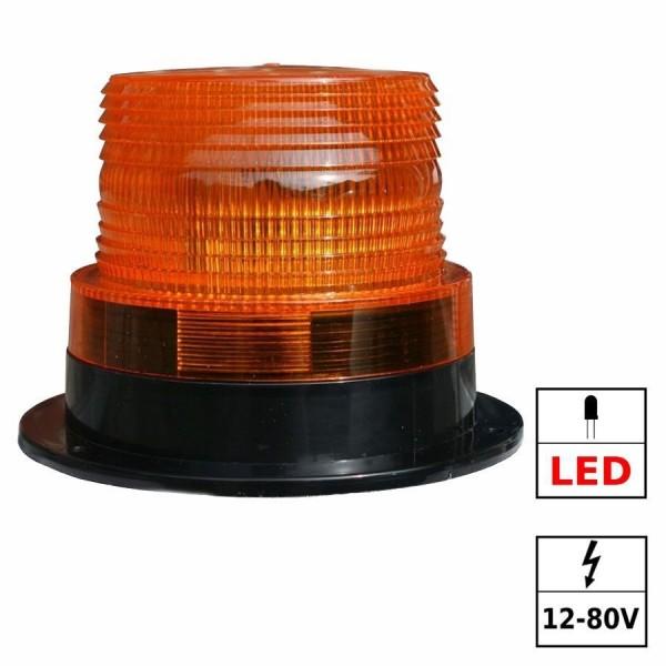 Feu à éclats LED 12/80VDC CE, E13, SAE J845 class III