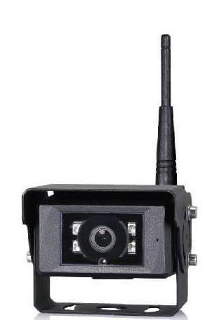Caméra numérique HD sans fil 720P, alim 10-32Vdc, angle 120°, IP69K