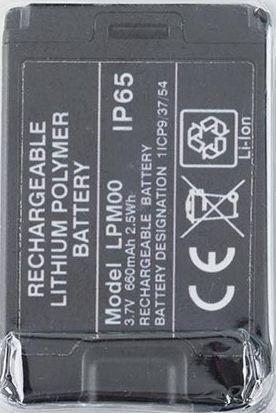 Batterie Li-Ion type LPM00 pour émetteur A8B