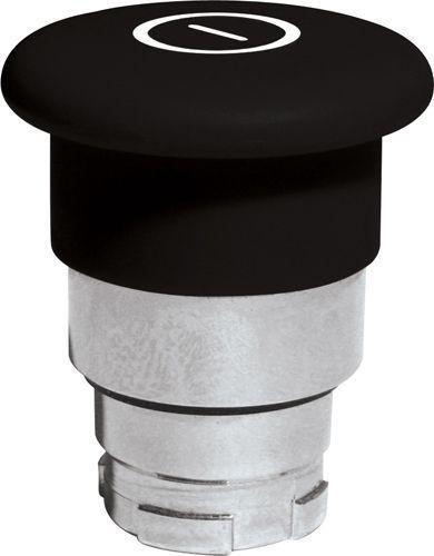 Arrêt d´urgence Métal 40mm poussé-tiré noir