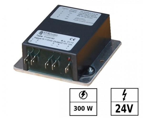 Convertisseur de tension 28-110 VDC/24 VDC 13A 300W IP67