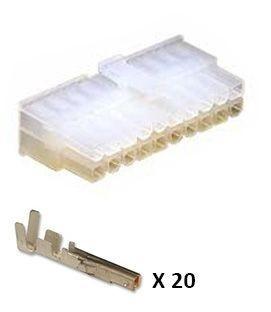 Connecteur Mini-Fit complet mâle 20 voies