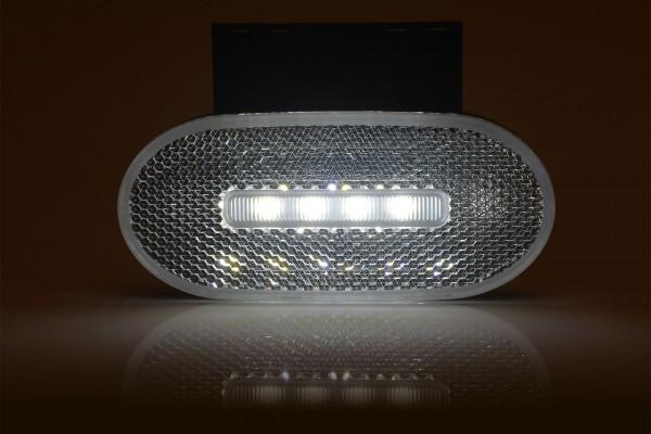 Feu de position avant LED avec catadioptre