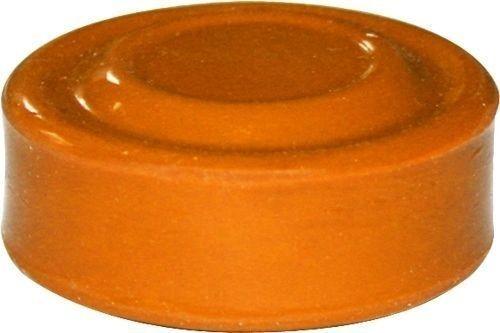 Capuchon orange pour bouton poussoir affleurant